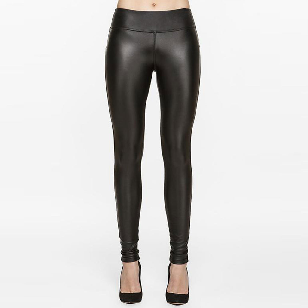 Diva Vegan Leather Fleece Legging 28 - SHOWFIELDS
