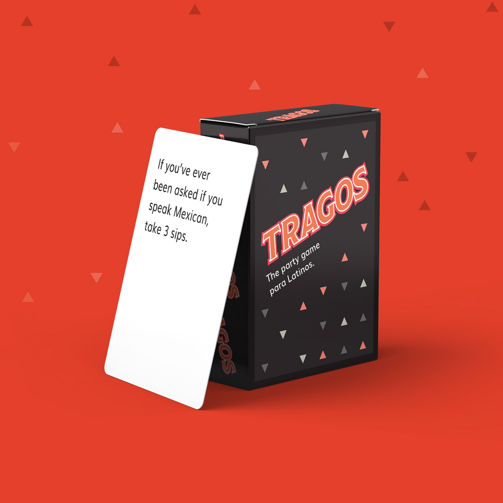 Tragos Original Party Card Game - SHOWFIELDS