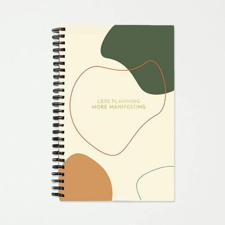 Recycled Paper, Self Care Journal, Manifestation Journal