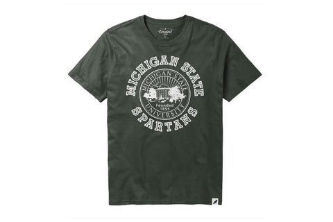 League Green MSU Seal T-shirt