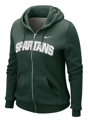 Nike Women's MSU Full-Zip Hoody