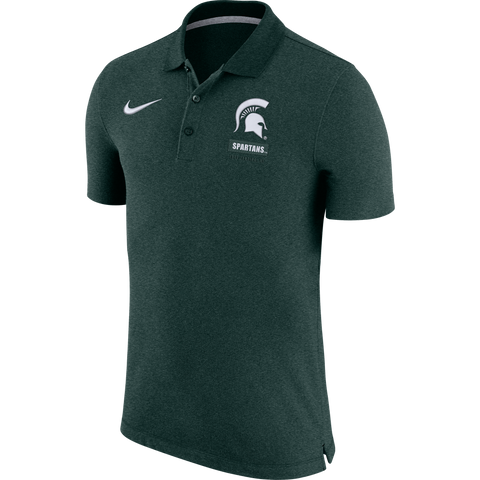 Nike Dri-Fit Solid Polo Green