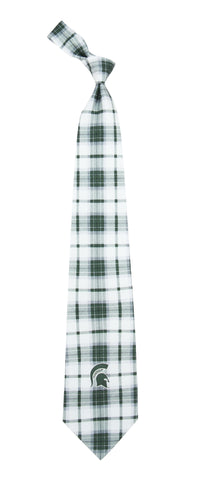 Eagles Wings Spartan Tartan Necktie