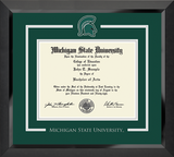 Church Hill Spirit Medallion Diploma Frame in Eclipse (Bachelor's/ Master's)