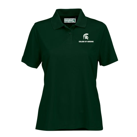 College of Nursing Women's Vansport Mesh Tech Polo