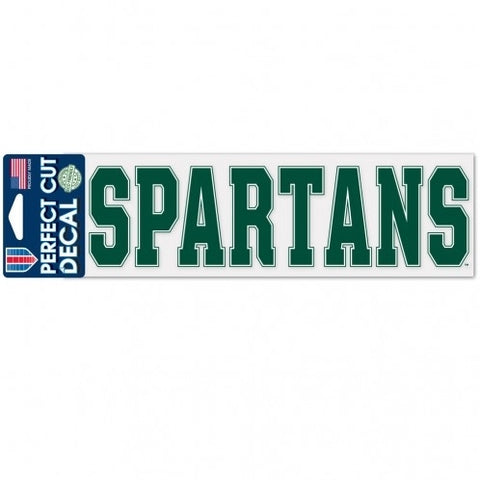 Wincraft Perfect Cut Spartans Decal