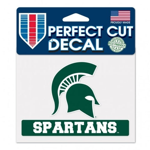 Wincraft Spartans Perfect Cut Helmet Decal