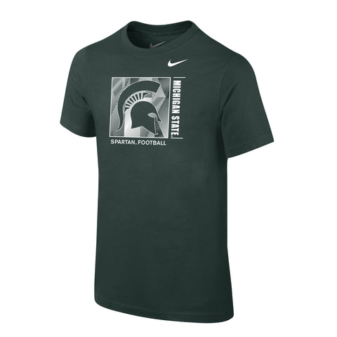 Nike Youth Cotton Facility Short Sleeve Tee