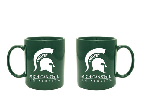 RFSJ Green MSU Word Mark Mug