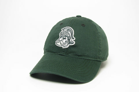 Legacy EZA Green Relaxed Twill with White Gruff Sparty Hat