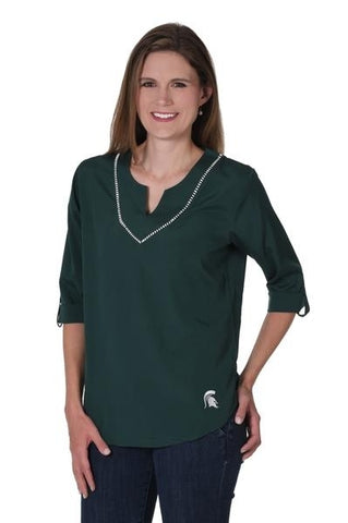 Michigan State Spartans UG Stitched Neckline Tunic