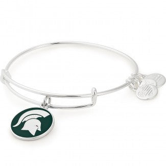 Alex & Ani MSU Color Infusion Logo Bracelet