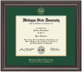 Church Hill Classics Diploma Frame Gold Embossed in Acadia (PhD/Medical)