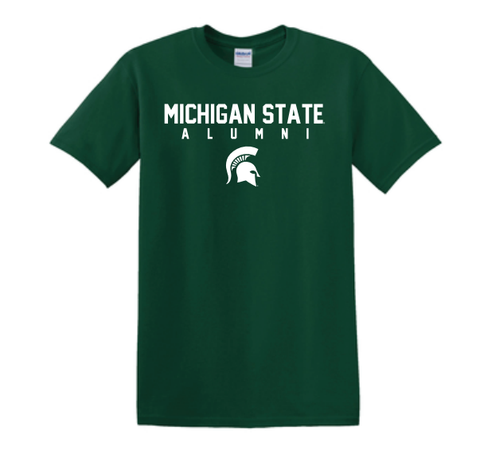Michigan State Alumni Short Sleeve Tee