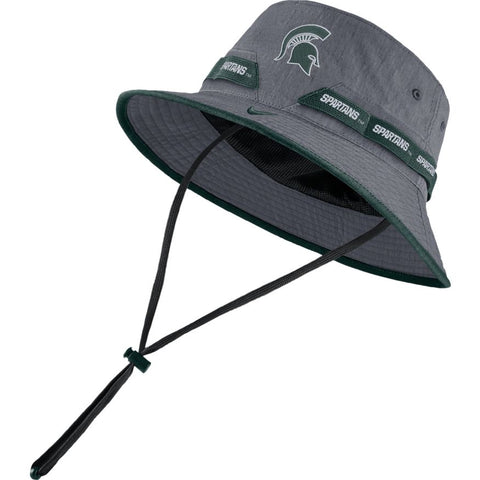 Nike Michigan State  Bucket Hat - Grey