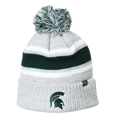 Zephyr Denver MSU Knit Pom Hat