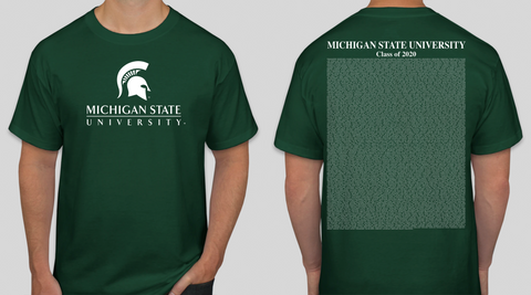 Michigan State Class of Fall 2020 Commencement T-Shirt