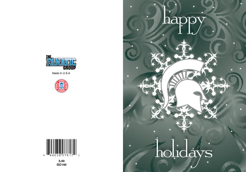 Fanatic Group 10pk Happy Holidays Greeting Cards