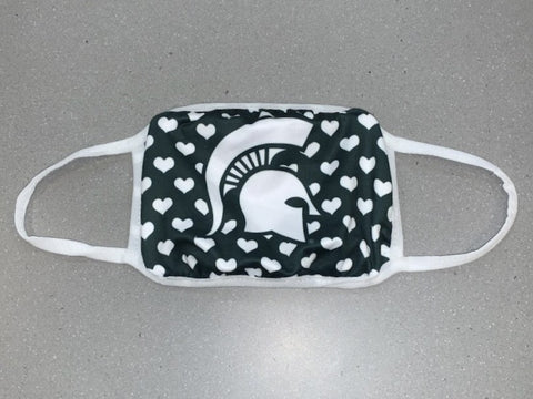 MSU Heart Face Mask