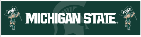 Sewing Concepts 2' X 8' Michigan State Dye Sublimated Banner