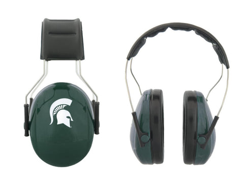 Your Ears Rock 3M MSU Protective Earmuffs- Solid Green