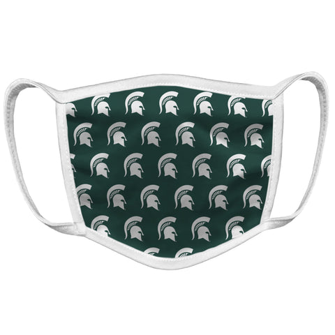 Retro Brand Face Mask - All Over Spartan Head
