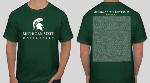 Michigan State Class of Spring 2021 Commencement T-Shirt