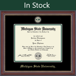 Church Hill Masterpiece Medallion Diploma Frame in Kensington Gold (PhD/ Medical)