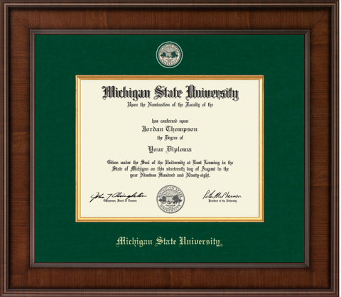 Church Hill Presidential Masterpiece Diploma Frame in Madison (Bachelor's/ Master's)
