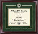 Church Hill Showcase Edition Diploma Frame in Encore (Bachelor's/ Master's)