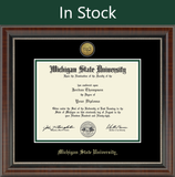 Church Hill Gold Engraved Diploma Frame in Chateau (Bachelor's/ Master's)