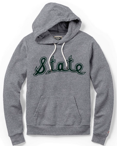 League Women's State Script Hooded Pullover