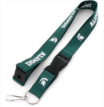 Aminco Michigan State Alumni Lanyard