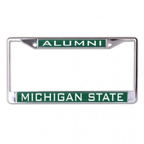 Wincraft Michigan State Alumni Inlaid Metal License Plate Frame