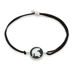Alex & Ani MSU Kindred Cord Sterling Silver Bracelet