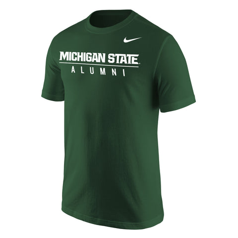 Nike Green Alumni Short Sleeve T-shirt