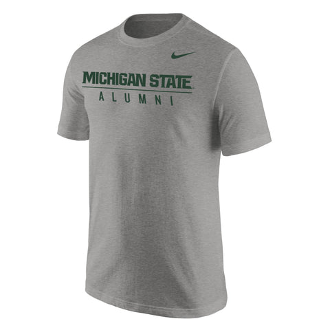 Nike Grey Alumni Short Sleeve T-shirt