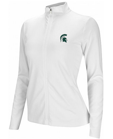 Nike Golf Michigan State Women's UV Victory Full Zip White