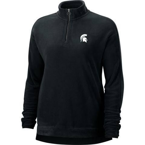 Nike Golf Michigan State Women's Thermal Victory Half Zip Black