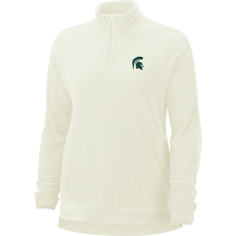 Nike Golf Michigan State Women's Thermal Victory Half-Zip Sail