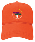 Relaxed Fit Orange Hat - Building Inclusive Communities