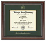 Church Hill Gold Embossed Diploma Frame in Chateau (Bachelor's/ Master's)