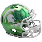 Riddell Michigan State Spartans Chrome Alternate Speed Mini Football Helmet