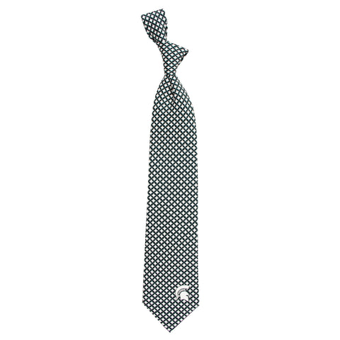 Eagles Wings Michigan State Diamante Tie