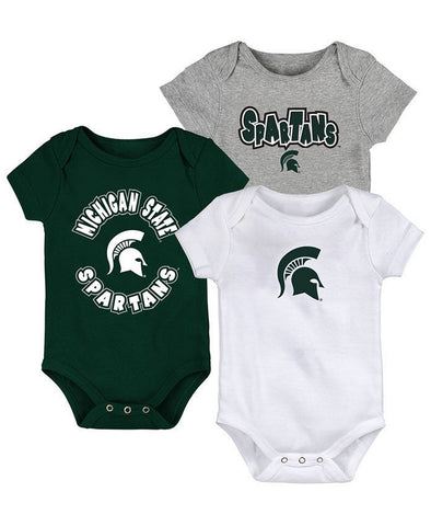 Gen2 Baby MSU 3-Piece Creeper Set