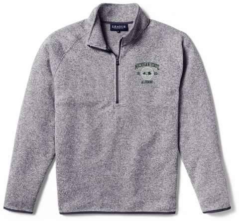 League MSU Alumni Seal 1/4 Zip