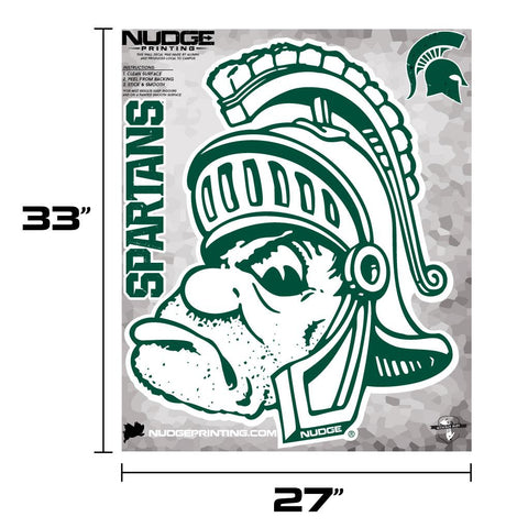 Nudge Printing Gruff Sparty Wall Decal Set