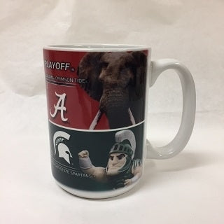 2015 College Football Playoff 4 Team Dueling Mug