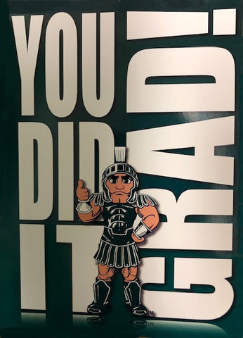 Fanatic Group Michigan State Graduate Card