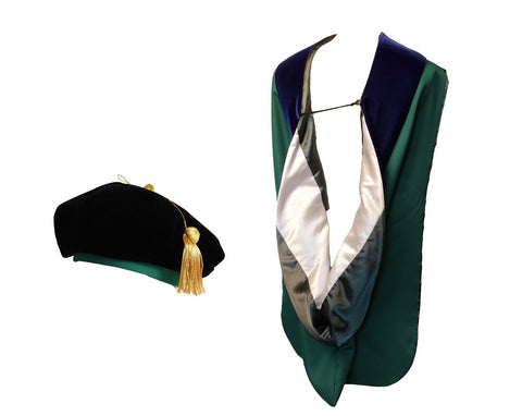 MSU Official Doctoral Hood and Tam Bundle